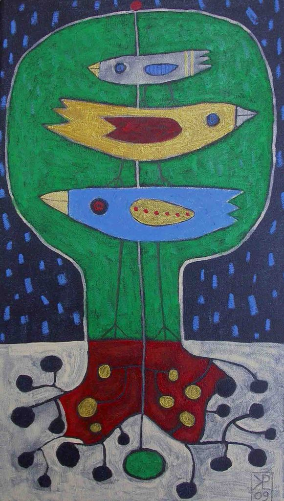 20x30, akril - pastel, 2009 (cena 180 eur)