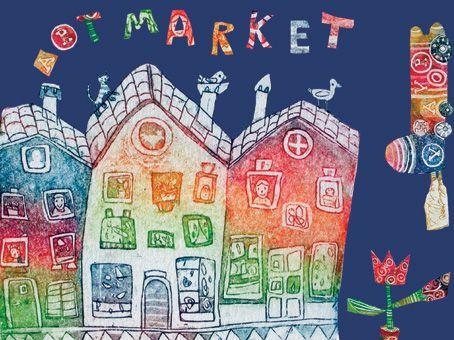 voščilnica Art market