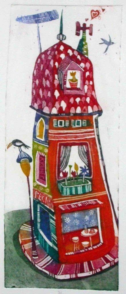 Hisa na vogalu, 26x11, 2007 (cena 80 EUR)