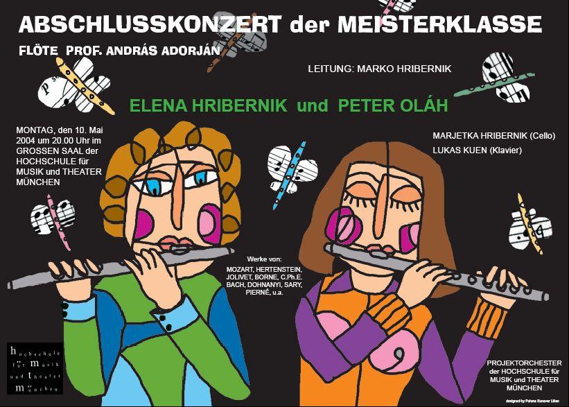 plakat Koncert flavt