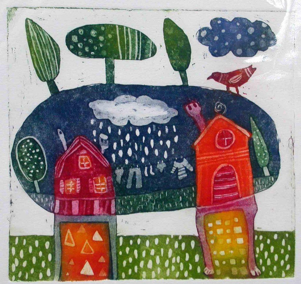 Moj in tvoj dom II, 14x14, 2007 (cena 52 EUR)