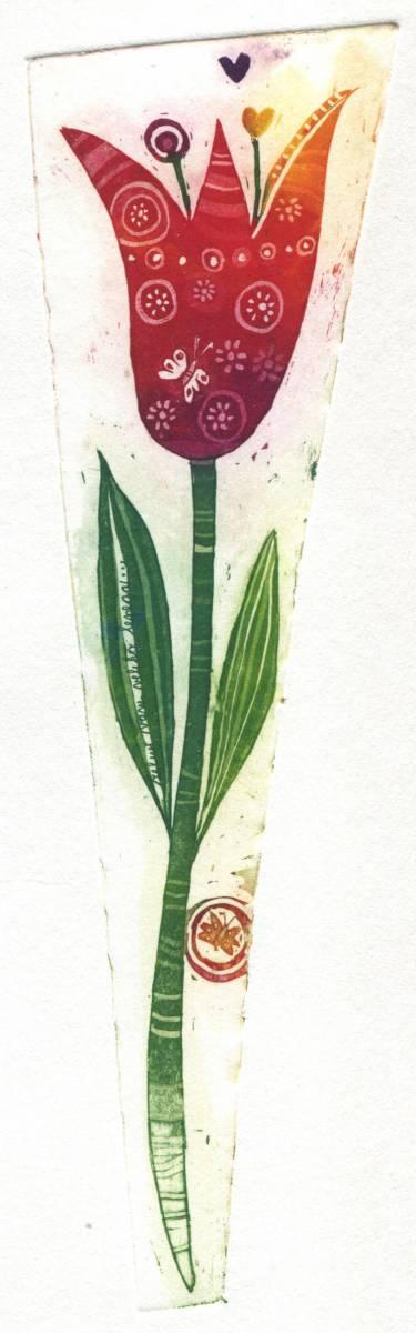 Oj tulipan, 21x6 cm, 2014, cena 26 eur