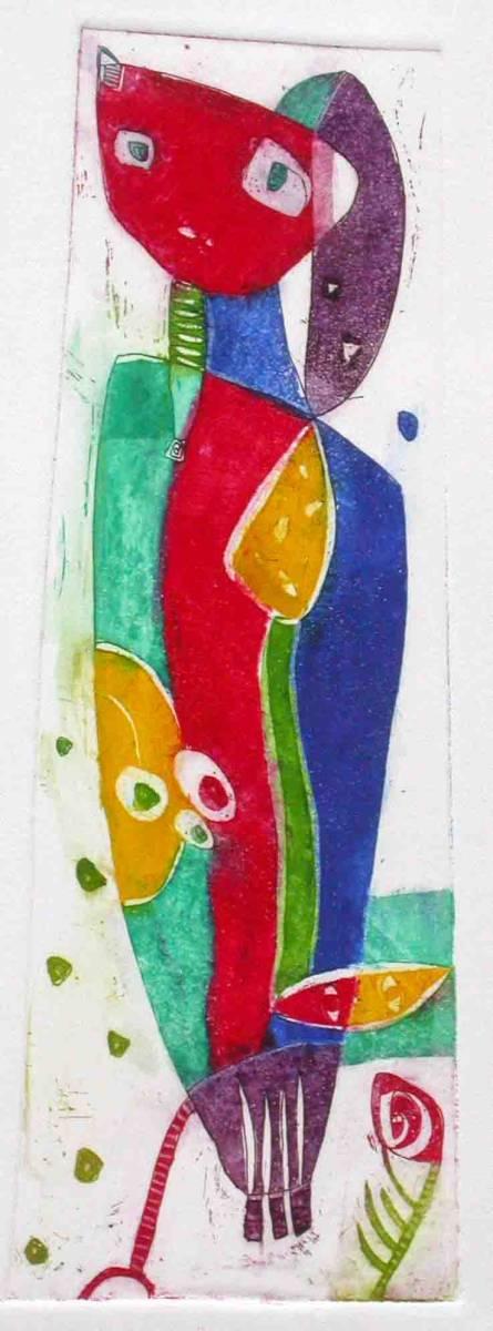 Prebujanje, 30x11cm, 2003 (cena 95 EUR)