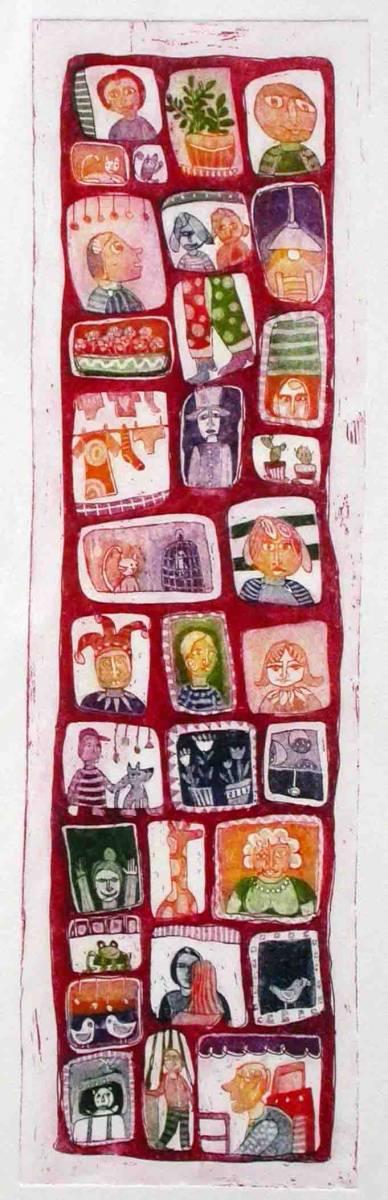 Skozi okna, 40x12cm, 2005 (cena 95 EUR)