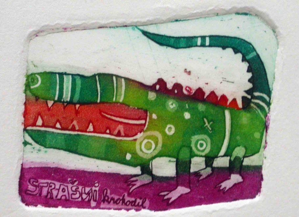 Strasni krokodil, 5x6, 2007 (cena 16 EUR)