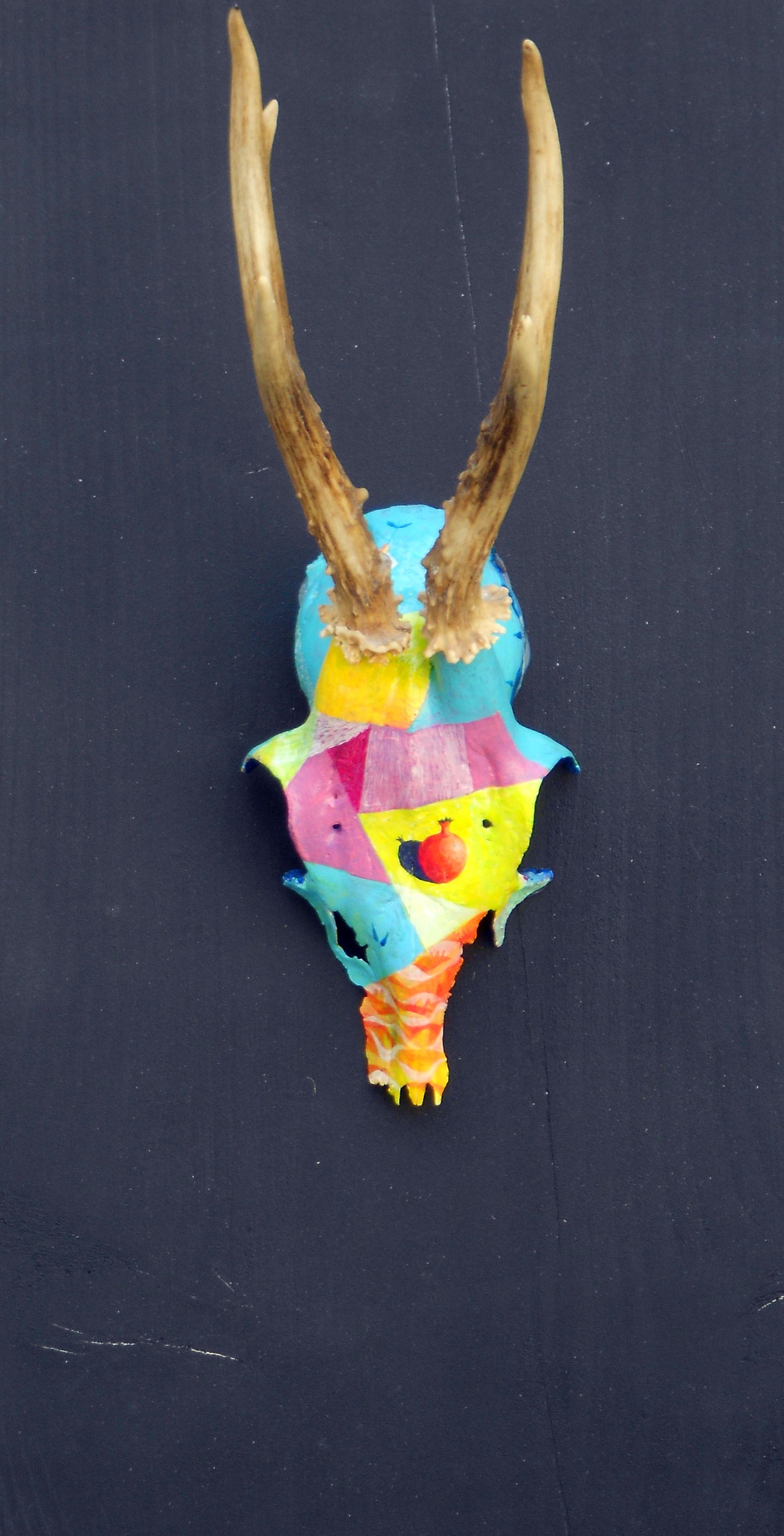 Trofeja, 45 x 30 cm, akril, 2013, PRODANO