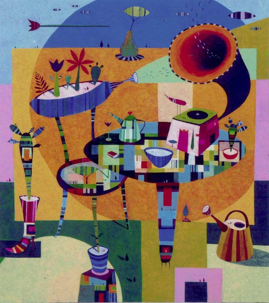 Velika, 180x160 cm, akril, 2008 (cena 6000 EUR)