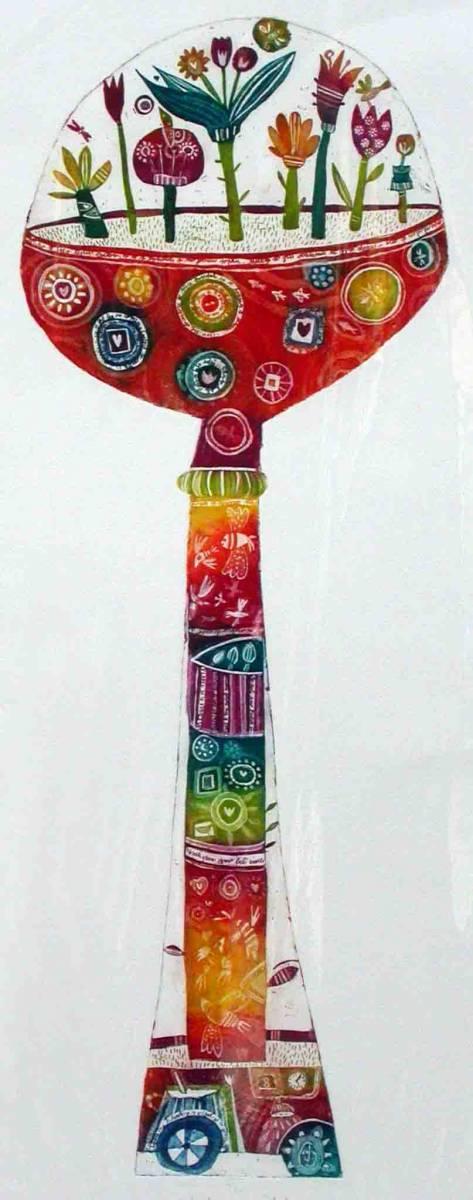 Cvetni gozdicek, 50x20cm, 2006 (cena 105 EUR)