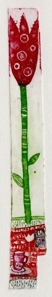 Moj tulipan, 2x15cm, 2004 (cena 25 EUR)