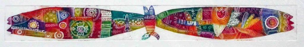 Na krilih, 6x46cm, 2003 (cena 105 EUR)
