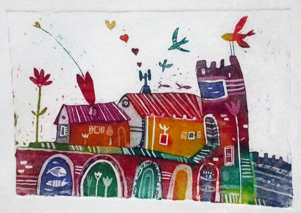 Obzidje, 10x14, 2007 (cena 40 EUR)