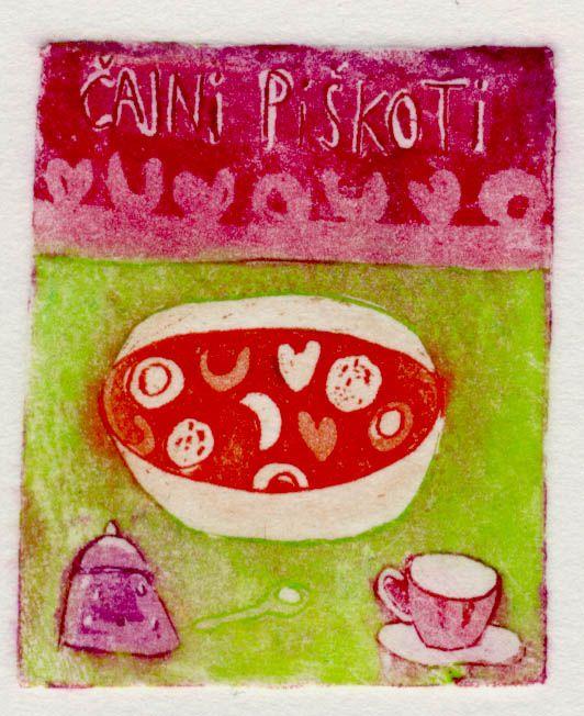 Piskoti, 4x5cm, 2005 (cena 14,60 EUR)