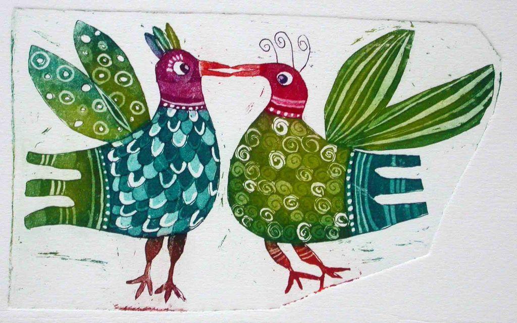 Rajski ptici, 11x17, 2007, cena 45 EUR