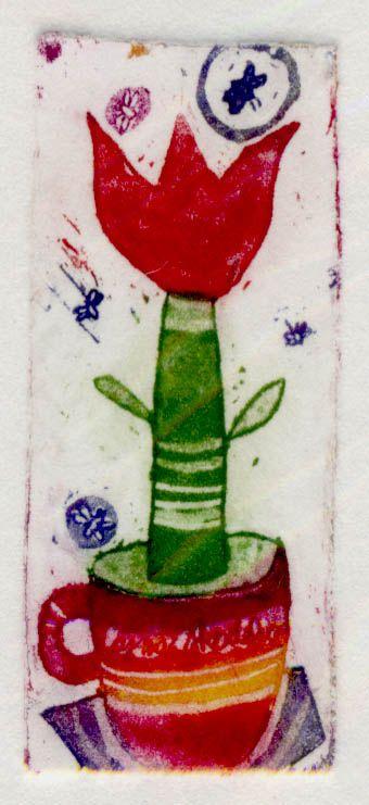 Tulipanov caj, 2x6cm, 2006 (cena 12,50 EUR)