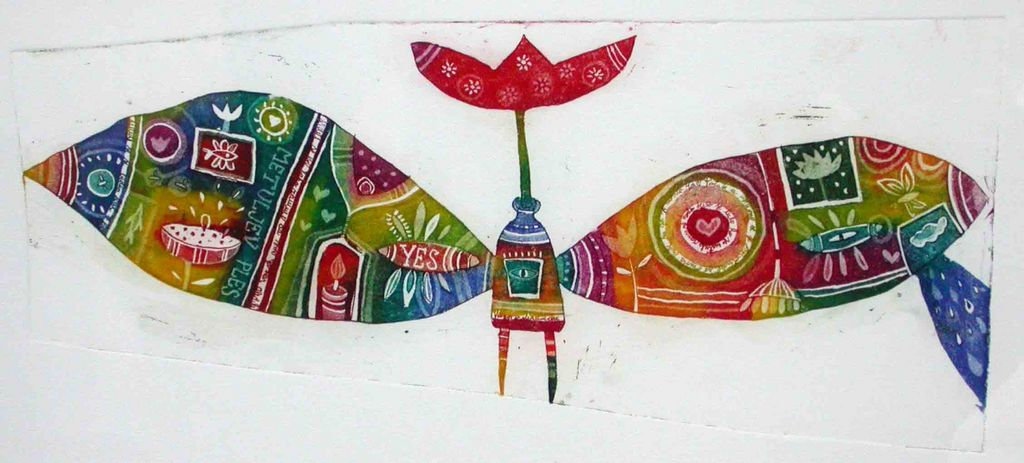 Tulipanova krila, 13x29, 2007. (cena 90 EUR)