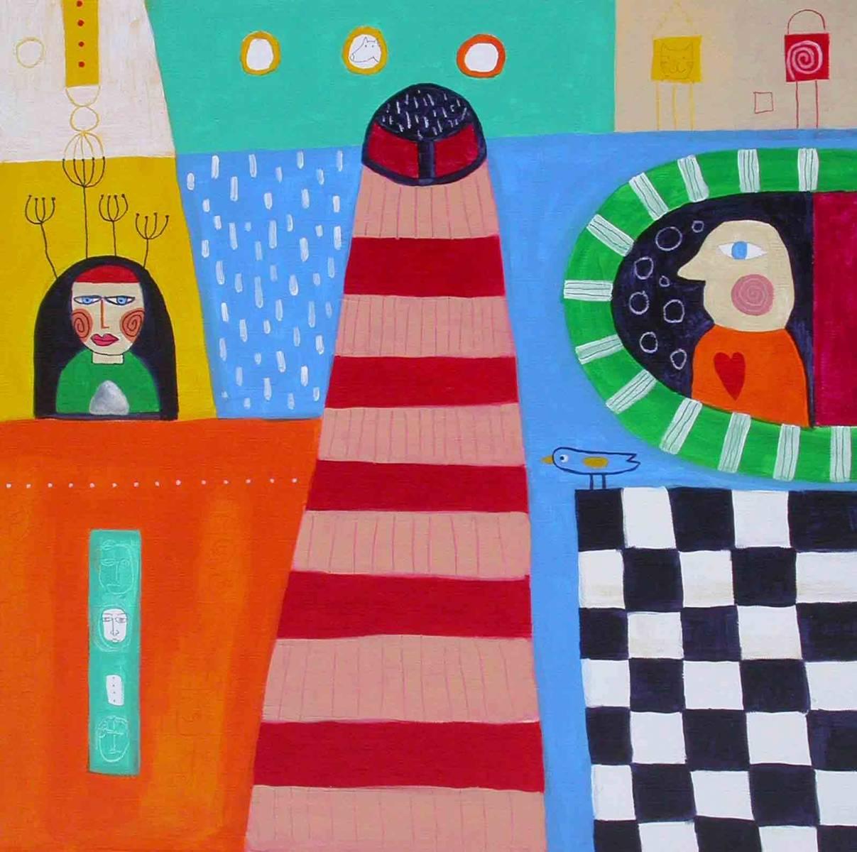 tolminsko polona 60x60 akril, 2007